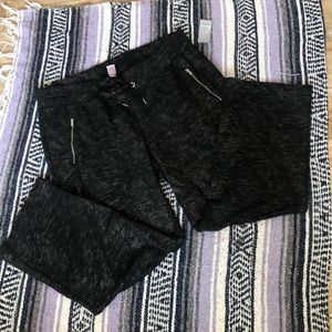 Lane Bryant Active 18/20 Black sparkle NWT